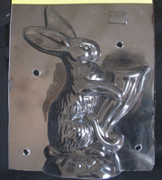 Easter Rabbit  chocolate mold