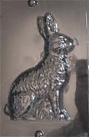 Plastic Bunny   chocolate mold
