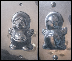Chick in Egg Chocolate Mold