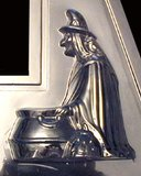vintage Witch Halloween Chocolate Mold