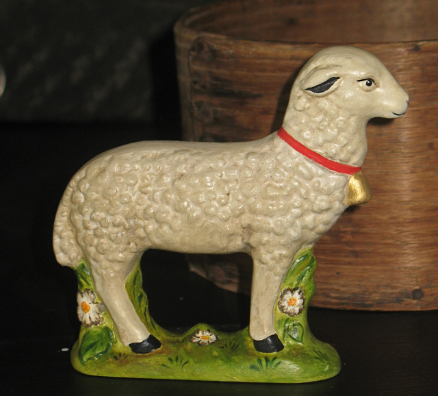 sheep from Anton Reiche chocolate mold