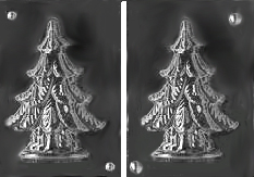 Christmas Tree Chocolate Mold
