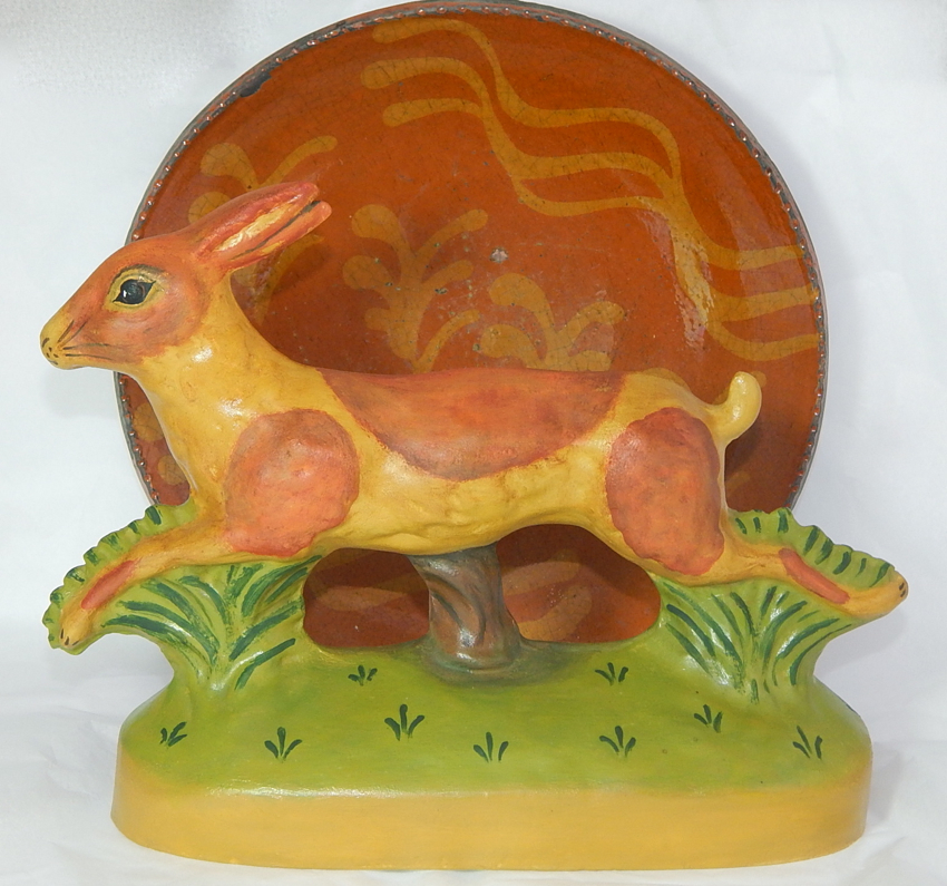 Yelloware Rabbit, Redware