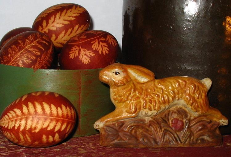 Bittersweet House Chalkware Rabbit