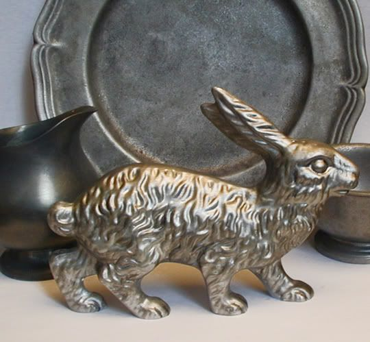 Bittersweet House  Pewter Rabbit