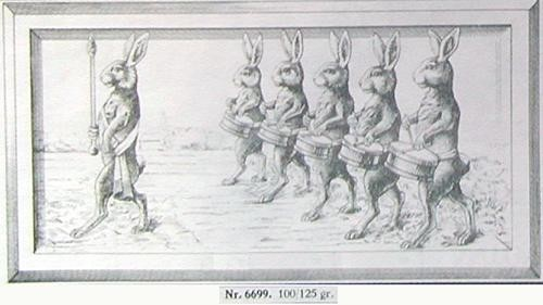 bunny marching band
