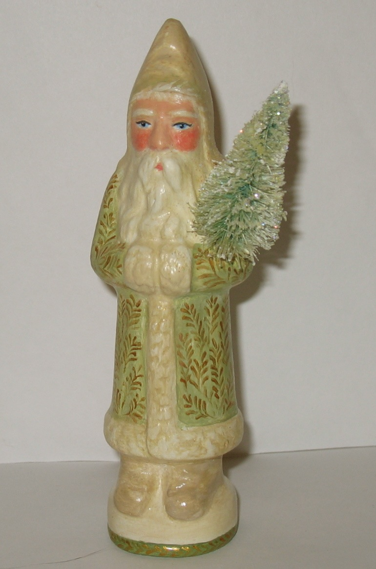 Chalkware German Belsnickle Santa
