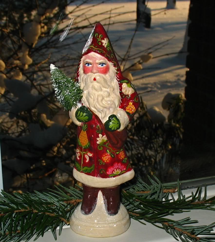 Bittersweet House Chocolate Mold Santa