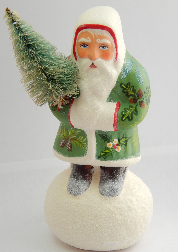 German Santa on Snowball