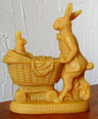 Bittersweet House Beeswax Mother Bunny and Baby