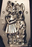 Girl With Bunny Rabbit chocolate mold
