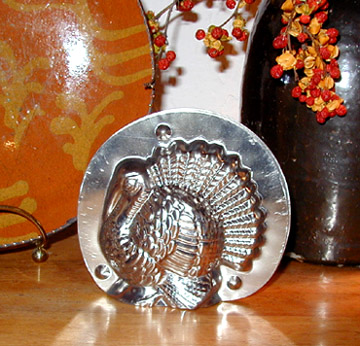 Chocolate Mold Beautiful Turkey ~4-5 in,
